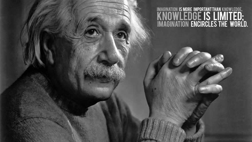la imaginacion albert einstein