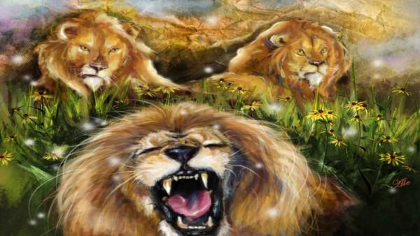 fabula 3 leones