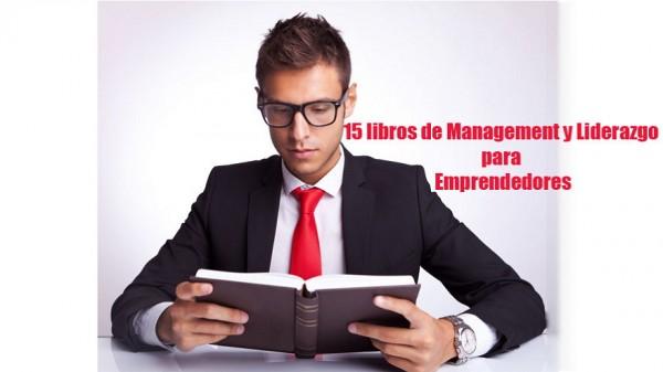 15 libros de management y liderazgo