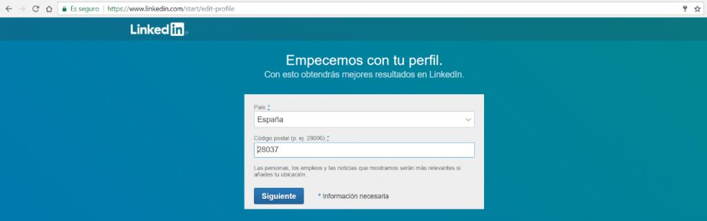 Que es una cuenta de Linkedin y como Registrarse 3