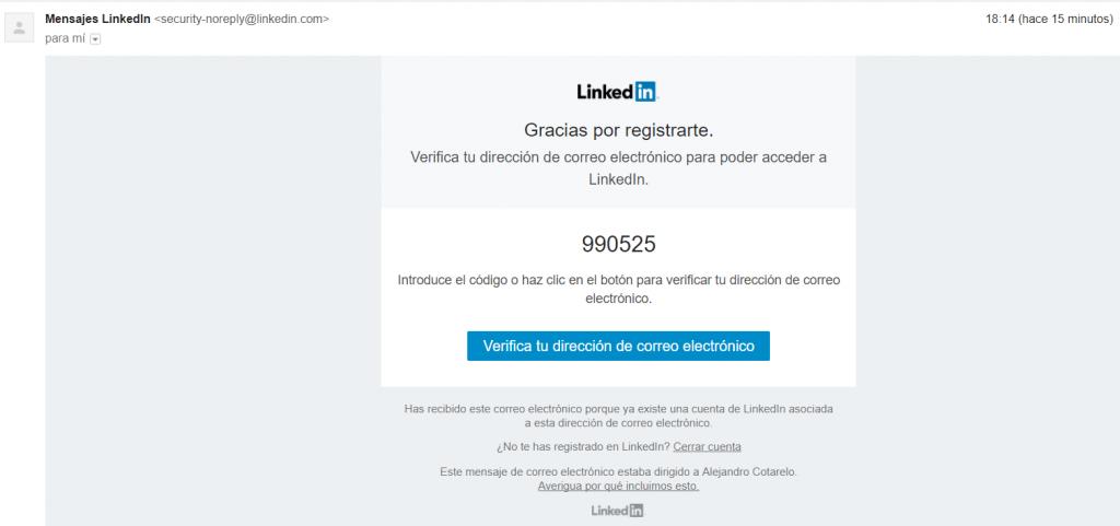 Que es una cuenta de Linkedin y como Registrarse 5