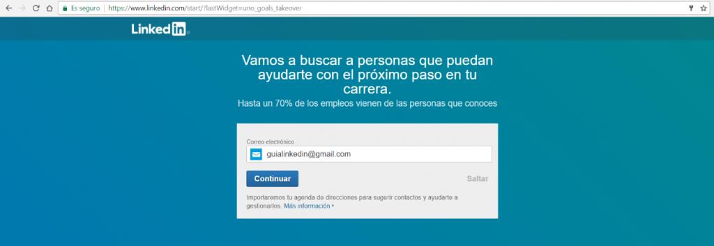 Que es una cuenta de Linkedin y como Registrarse 6